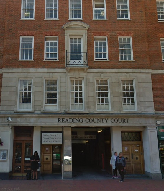 Reading County Court. Photo: Google Maps