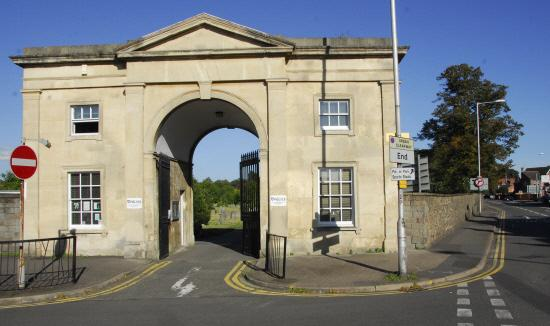 095100 - Reading Old Cemetery - Paul Johns - 8/9/09..cemetery junction entrance.