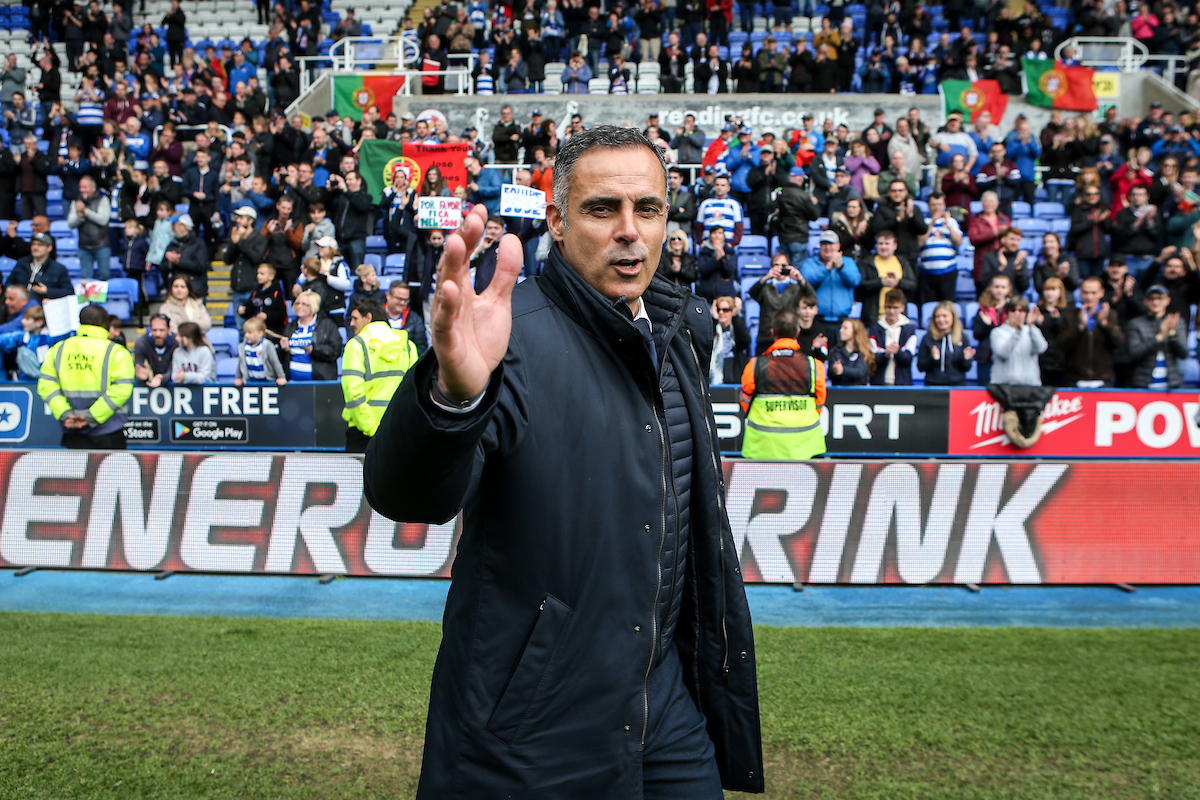 "Reading FC manager Jose Gomes: ""When we find a person like John, it's intelligent if we can use him. I don't know whether he will accept our conditions or not, but I think we should use him."" Photo: Jasonpix."