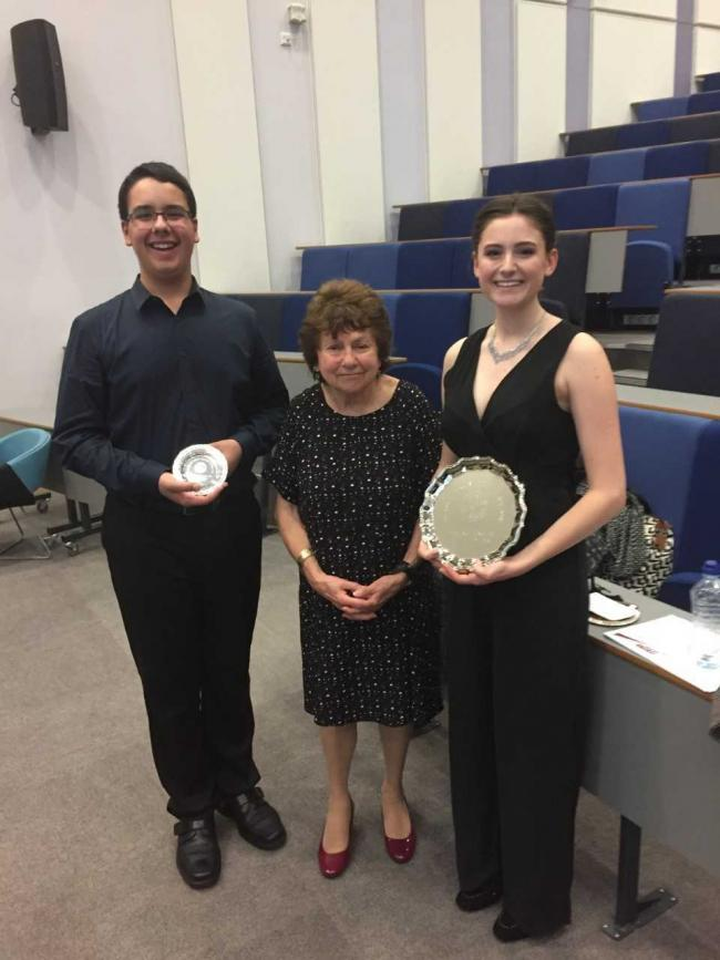 Local musicians almost sweep the board at National Young Musician Final