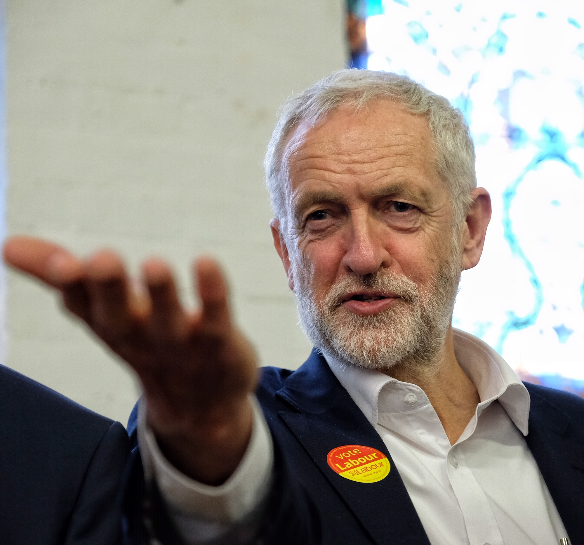 Labour leader Jeremy Corbyn comes to Reading