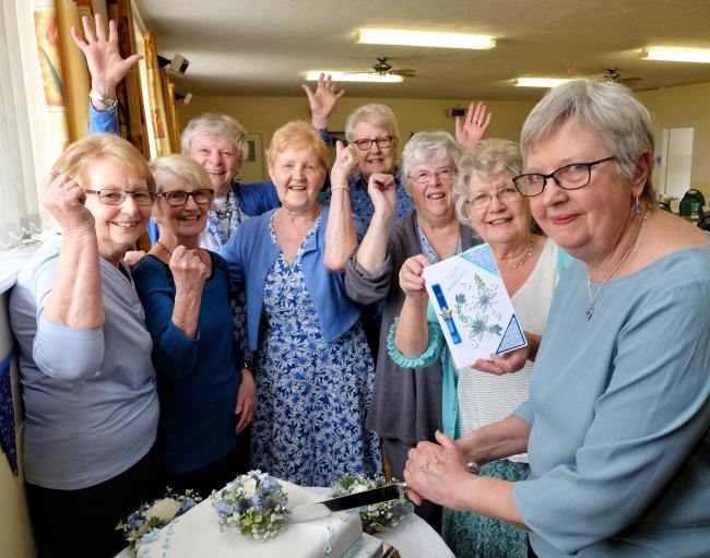 Thames Valley Flower Club celebrated 65 years on Monday  Photo: Mike Swift