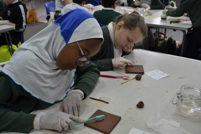 Reading College welcomes local primary school for fun workshop