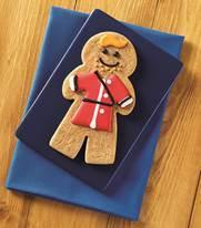 Special biscuit created for His Royal Highness' first Father's Day