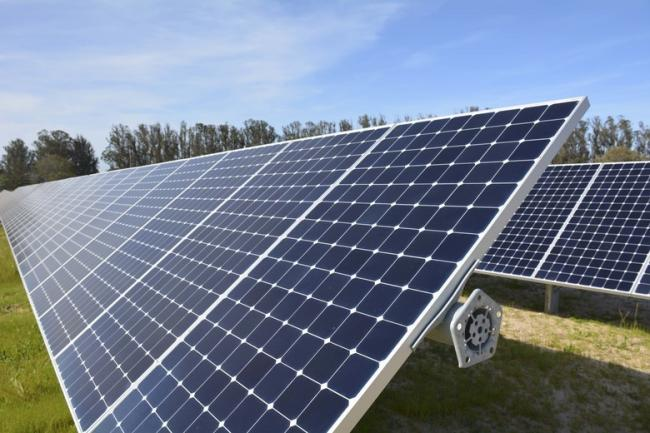 £750,000 was put aside for solar panels